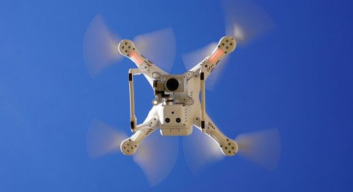 Drone with video camera