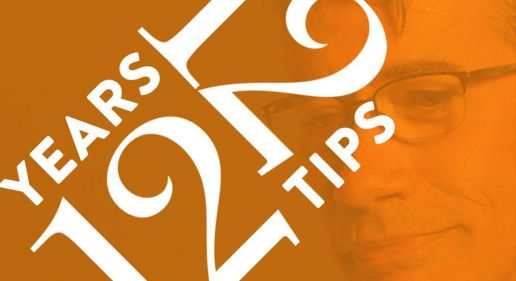 12 Years and 12 Tips graphic