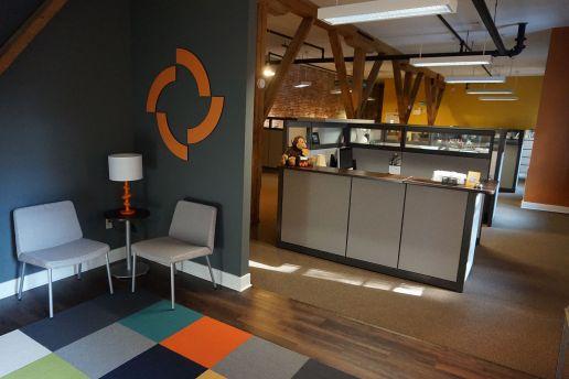 Image of Scheffey's reception area.