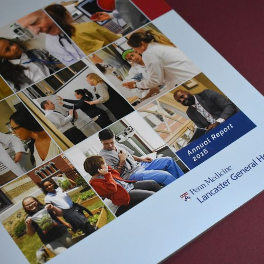 LGH Health Brochure Design