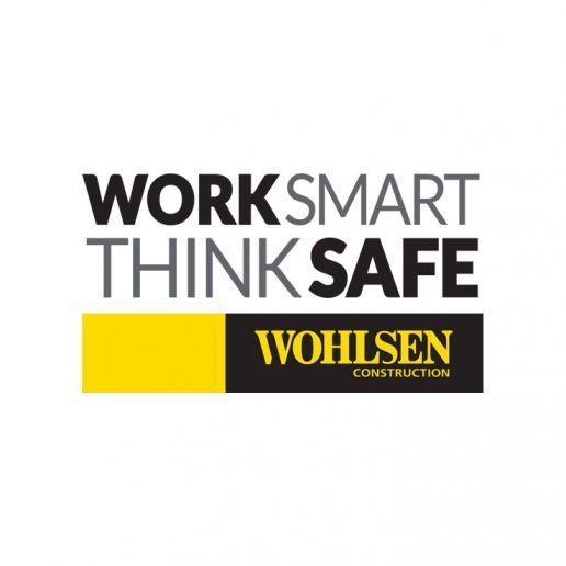 Wohlsen Work Smart Think Safe logo
