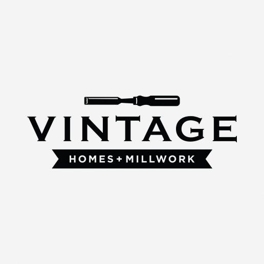vintage homes millwork logo
