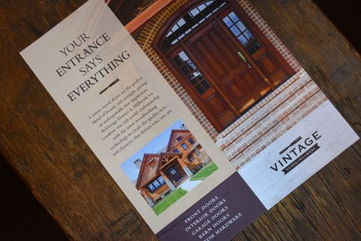 vintage homes millwork brochure