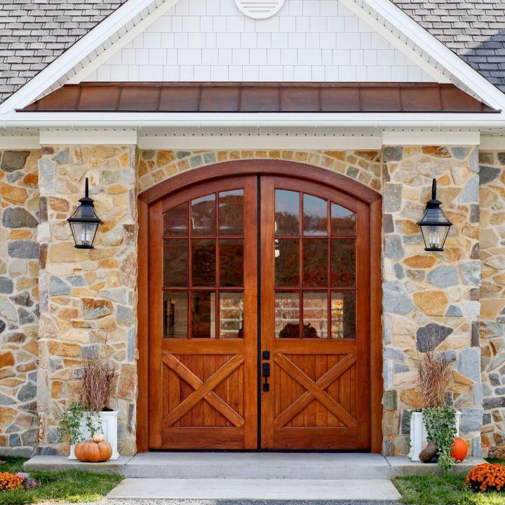 vintage homes millwork door front