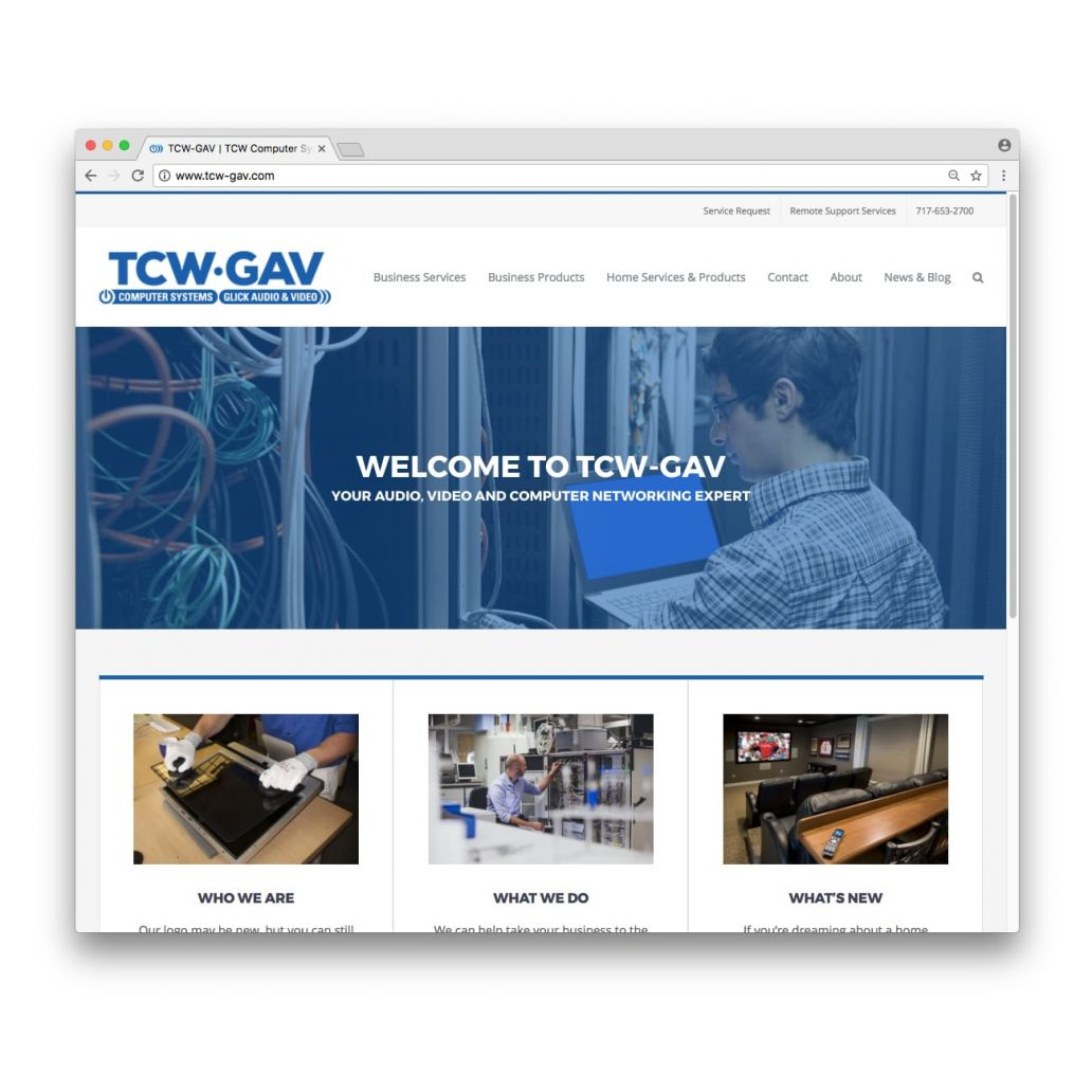 TCW-GAV Home Page