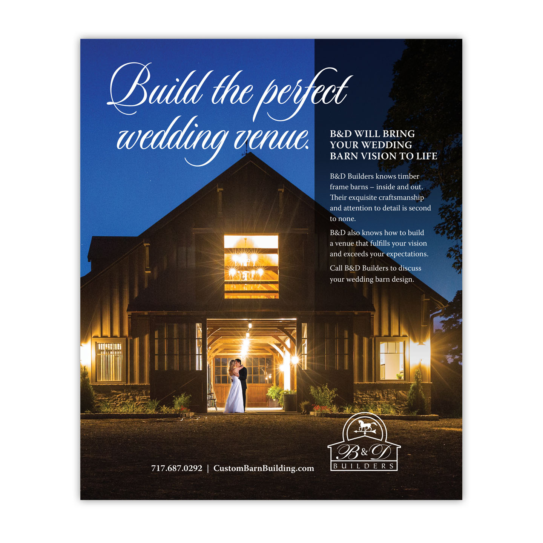 B&D Builders Print Ad