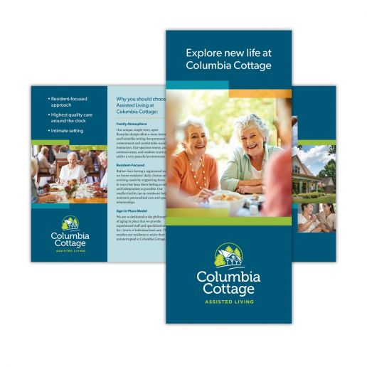 Columbia Cottage brochure