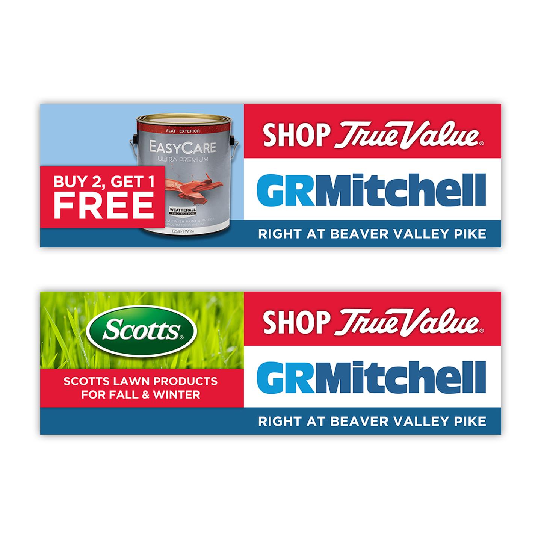 GR Mitchell Digital Billboard