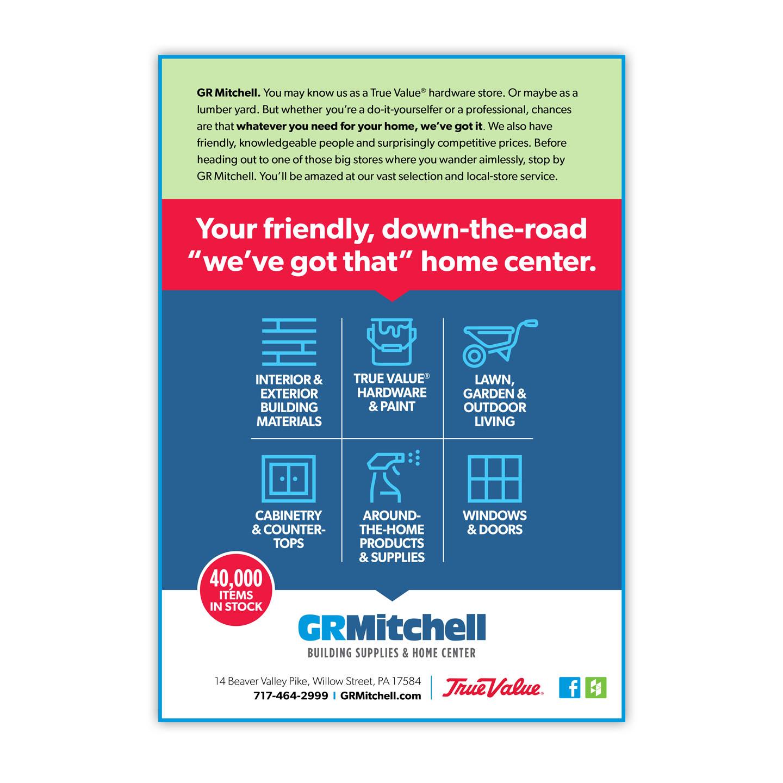 GR Mitchell Print Ad