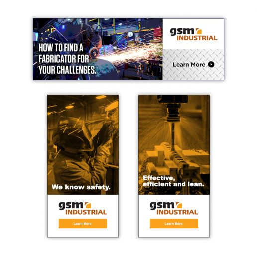 GSM Industrial Digital Ad
