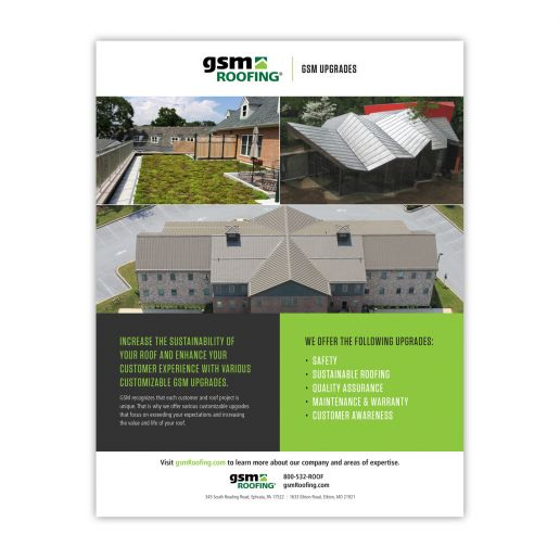 GSM Roofing Product Sheet