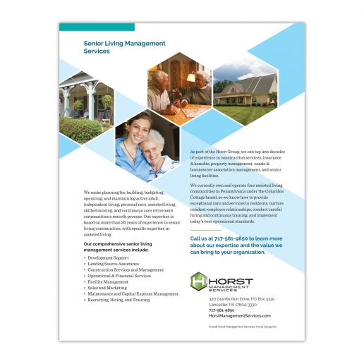 Horst Management Services Information Sheet
