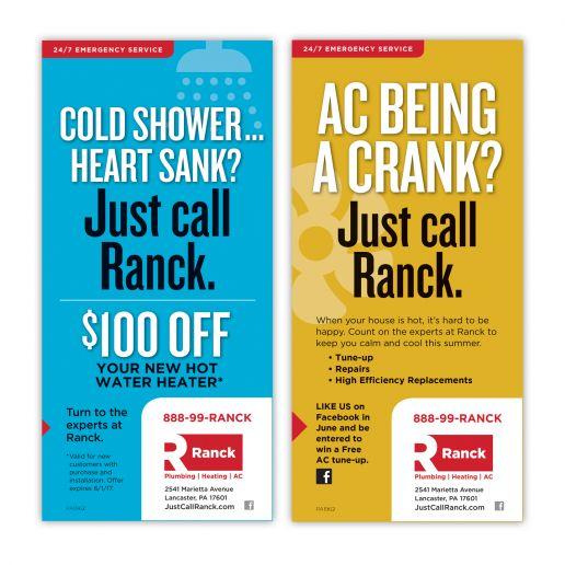 Ranck Print & Digital Ad Campaign