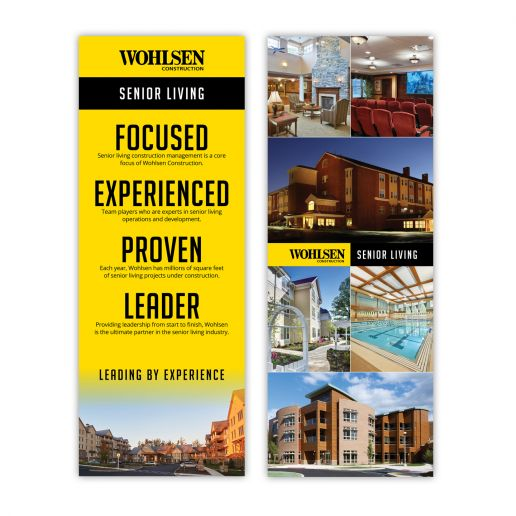Wohlsen Construction Trade Show Banners