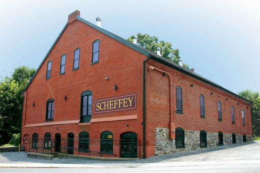 An exterior image of Scheffey's office building