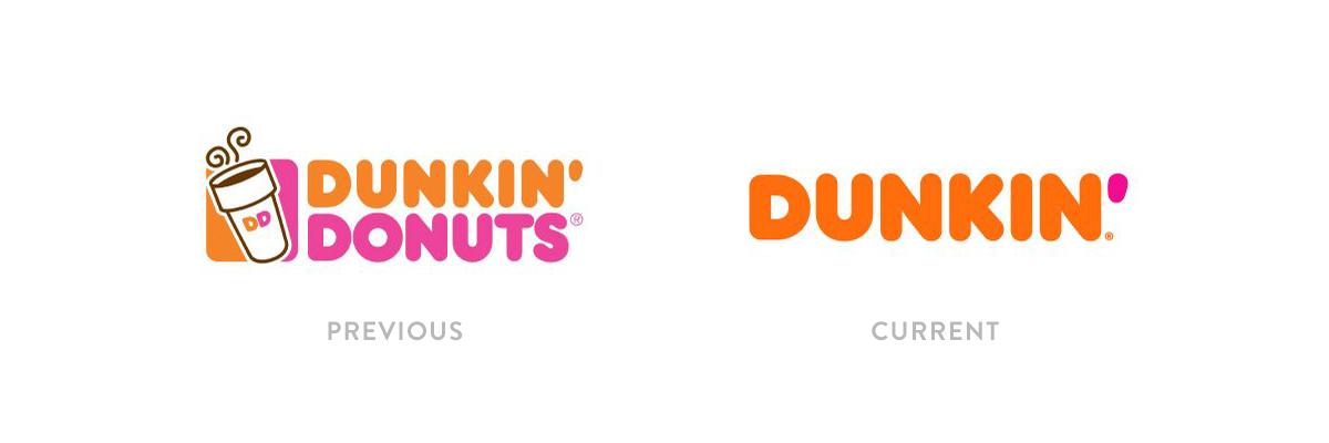 Dunkin Logo Rebrand
