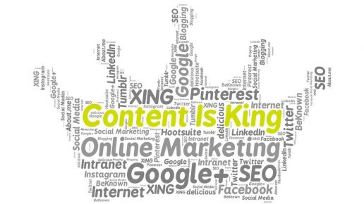 content is king crown