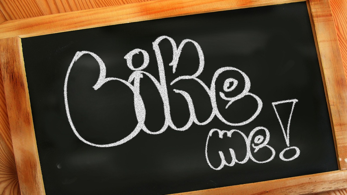 Like Me written in chalk