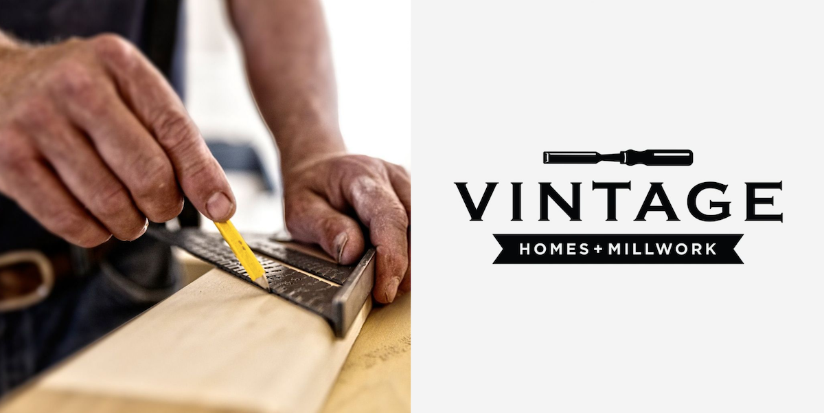 vintage home and millworks logo