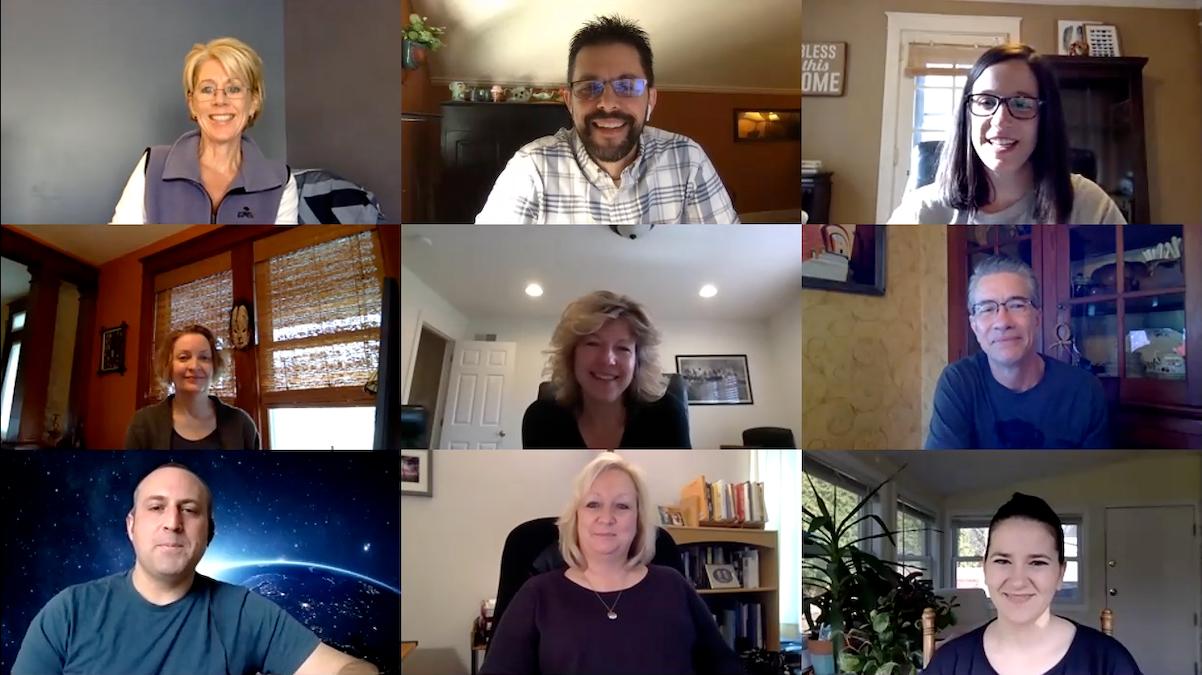 Scheffey Marketing Team on Zoom
